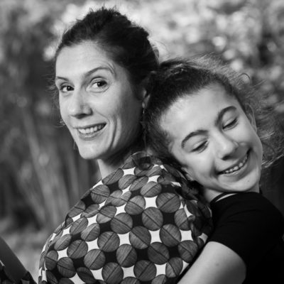 photo de famille mère et fille