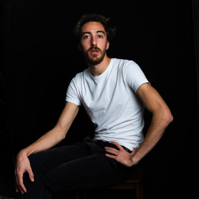 portrait Lucas Bouissou, acteur
